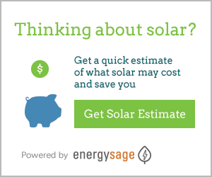 EnergySage Solar Estimate button