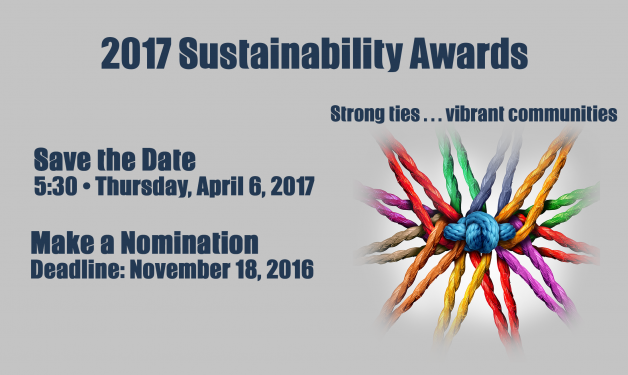 Save the Date: 5:30 PM Thursday April 6, 2017 + Make A Nomination: Deadline November 18, 2016