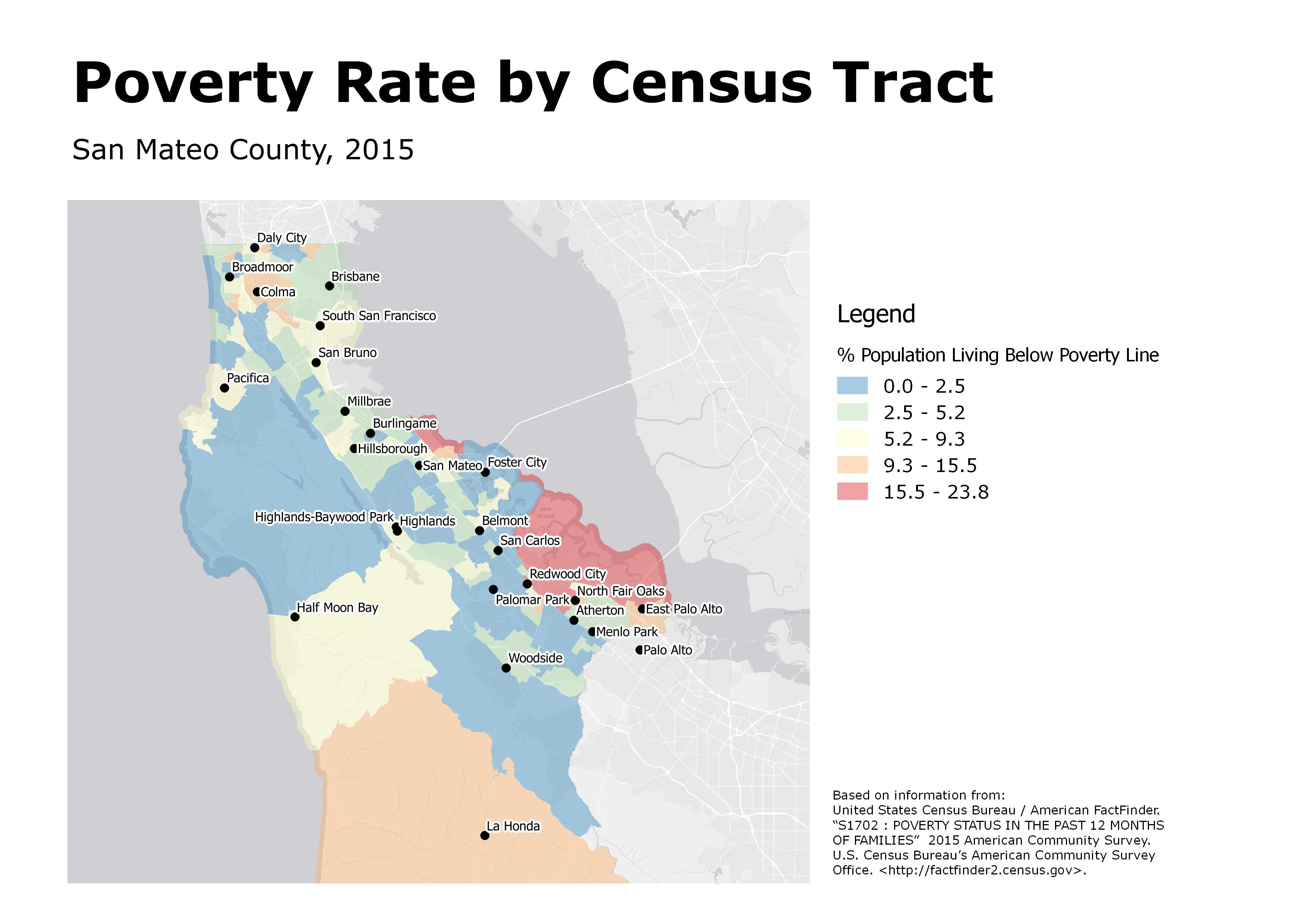 Poverty Rate by Census Tract