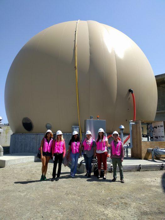 Bubble gas storage